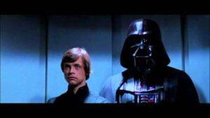 Luke et Dark Vador